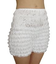 Malco Modes Adult Pettipants, Style N24, Sexy Ruffled Panties