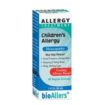 bioAllers Childrens Allergy Homeopathic Treatment for Congestion, Sneezing, Runny Nose & Itchy Eyes | 1 Fl Oz