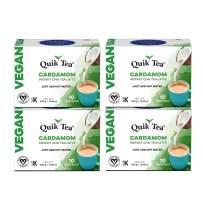 QuikTea Vegan Cardamom Chai Tea Latte - 40 Count