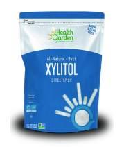 Health Garden Birch Xylitol Sweetener - Non GMO - Kosher - Made in the U.S.A. - Keto Friendly (10 lbs x 4)