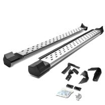Pair Aluminum Side Step Nerf Bar Running Boards Replacement for Toyota Rav4 13-17