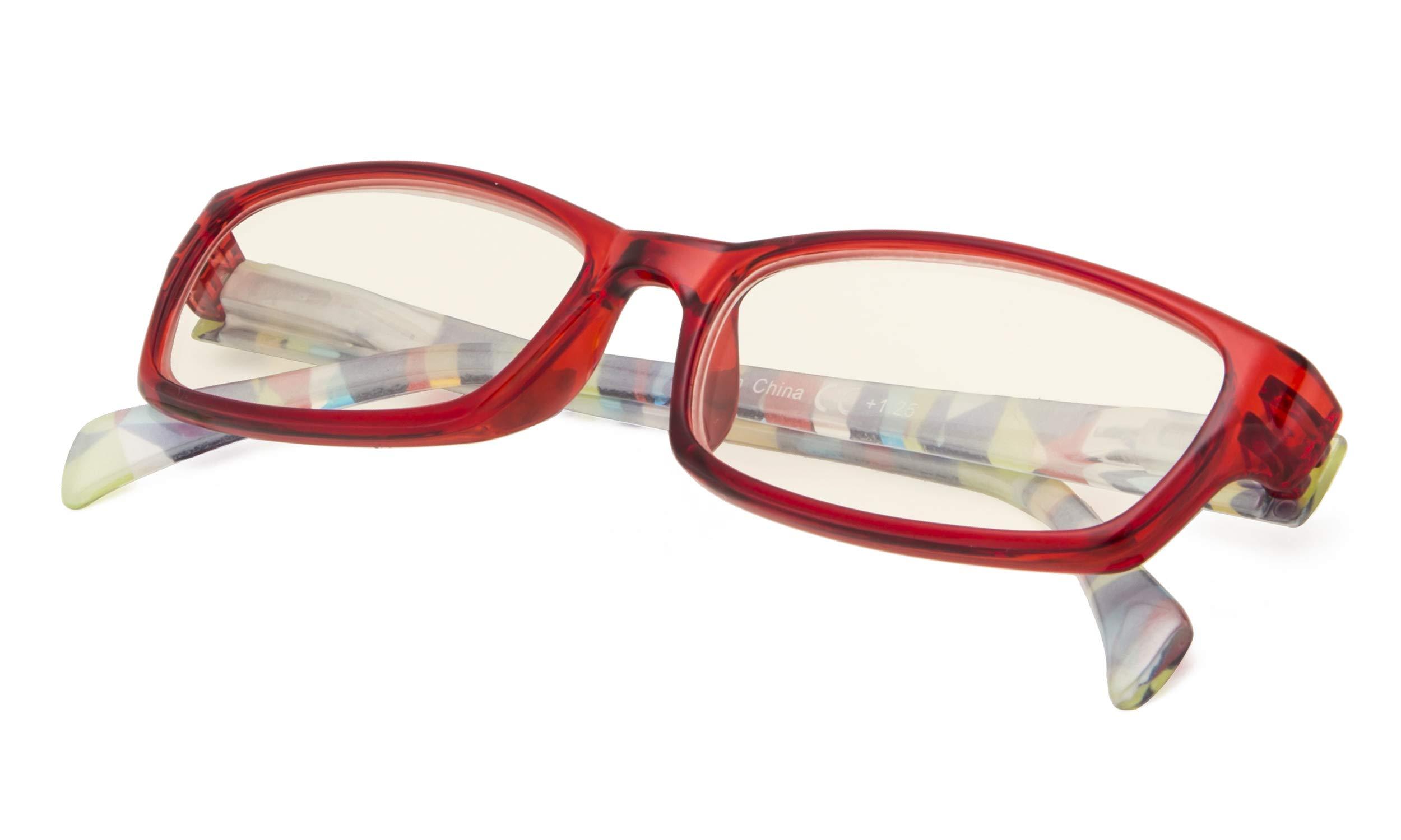 Computer Glasses - Blue Light Blocking Reading Glasses for Women