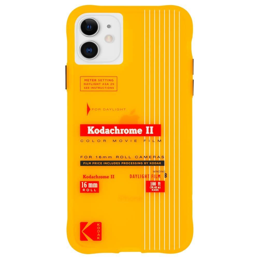 Kodak x CASE-MATE - iPhone 11 Case - Kodak Vintage Kodachrome II Print Case