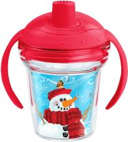 Tervis 1238147 My 1st Christmas 6 Oz My First Sippy Cup, Red