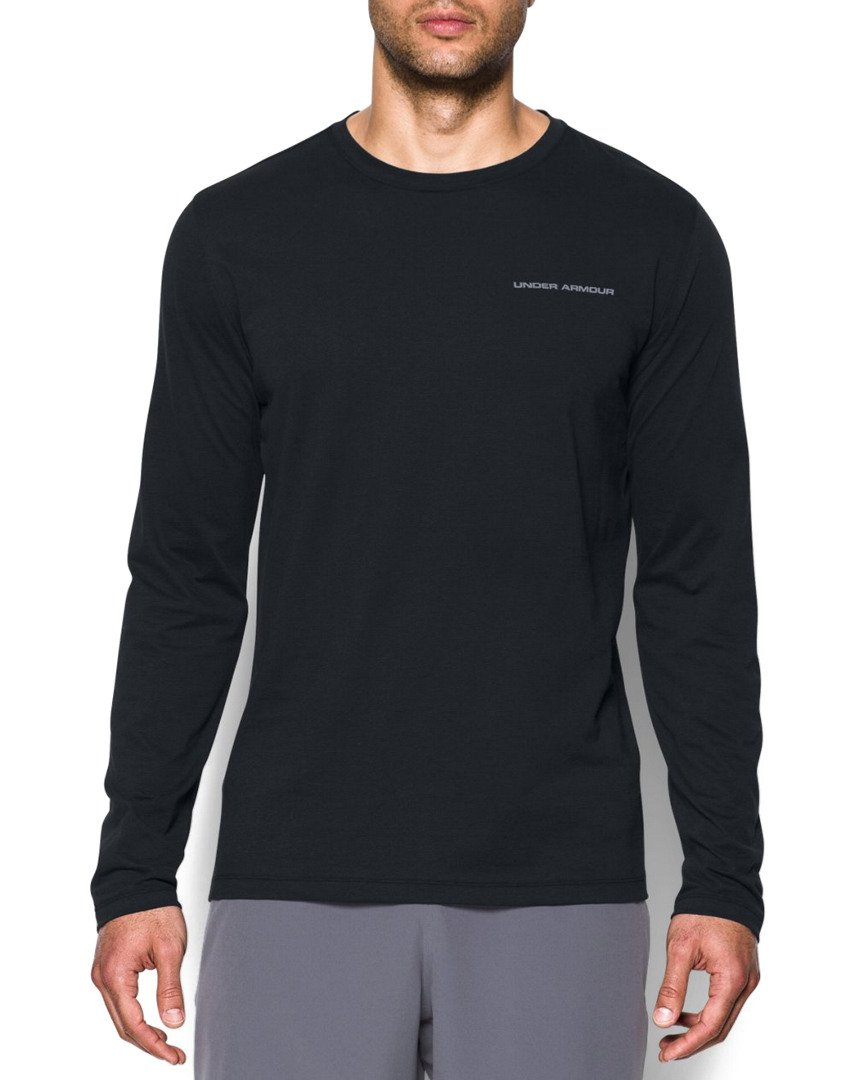 Under Armour Men's Charged Cotton Long Sleeve Tee