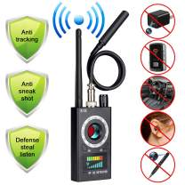Anti Spy Camera Detector, RF Bug Detector, BQYPOWER Wireless Signal Pinhole Laser Lens GSM Detector Ultra-high Sensitivity Full-Range Tracker Finder