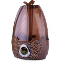 Air Innovations Leopard MH-602 1.6 Gallon Cool Mist Digital Humidifier for Large Rooms Up to 500 sq. ft