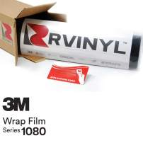 3M 1080 M10 Matte White 5ft x 6ft W/Application Card Vinyl Vehicle Car Wrap Film Sheet Roll