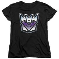 Transformers Decepticon Airbrush Logo Women's T Shirt & Stickers