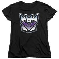 Transformers Decepticon Airbrush Logo Women's T Shirt & Stickers