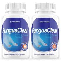 (2 Pack) Fungus Clear Probiotics Pills Tablets Fungi Clear Nails Plus - for Strong Healthy Nails (120 Capsules)