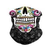 LEBOO Unisex Bandana Face Mask Seamless Neck Gaiter Headwear,Motorcycle Face Cover Dust Wind Balaclava