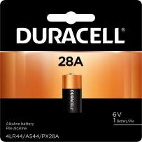 Duracell - 28A 6V Specialty Alkaline Battery - long lasting battery - 1 Count