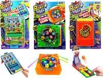 JA-RU Pocket Games Kid Travel Toys Bundle Set (3 Games) Mini Games for Kids Pocket Pinball, Finger Basketball & Magnetic Fishing. Fidget Toys, Party Favors ADD ADHD, Stress Toys. 3255-3258-3205p