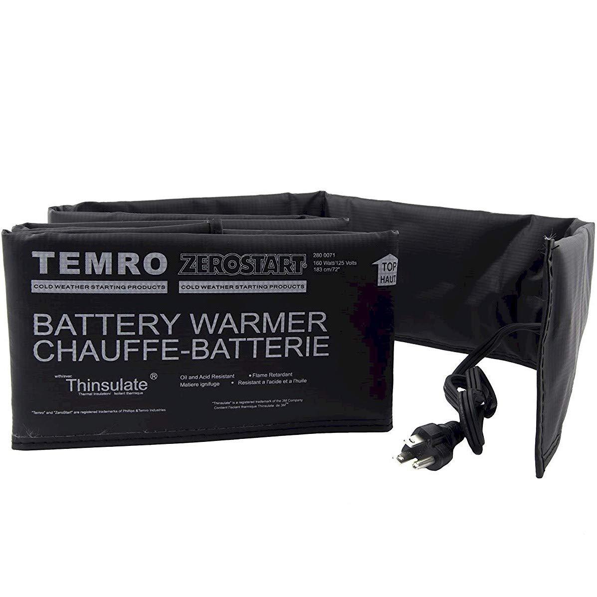 Zerostart 2800071 Electric Battery Blanket Battery Heater Wrap, 72-Inch   CSA Approved   120 Volts   80 Watts