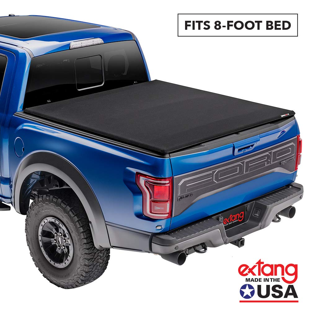 Extang Trifecta Signature 2.0 Soft Folding Truck Bed Tonneau Cover  | 94955 | Fits 2007-13 Toyota Tundra w/o rail system 8' Bed