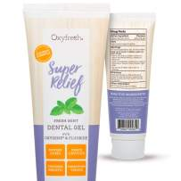 Oxyfresh Fluoride Super Relief Dental Gel – So Soothing Sensitivity Gel – Infused with Aloe Vera and Natural Mint – Dentist-Recommended to Help Soothe Tooth Sensitivity. 4 oz.