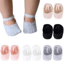 Lace Baby No Show Socks Cotton Baby lace Princess Socks Boat