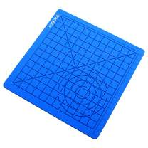 3D Pen mat -Printing Printer Pen Silicone mat with Basic Template,Great Art Drawing Tools Accessory for 3D Pen