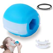 Jaw Exerciser, Jaw Exerciser For Women & Men, Neck Exerciser, Double Chin Reducer, Mouth Exerciser, Face Slimmer, Jaw Line Toning you Face - Make Your Chin Contour Slim, Face Look Younger And Healthy