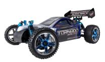 Redcat Racing Brushless Electric Tornado EPX PRO Buggy with 2.4GHz Radio, Vehicle Battery & Charger Included (1/10 Scale), Blue/Silver