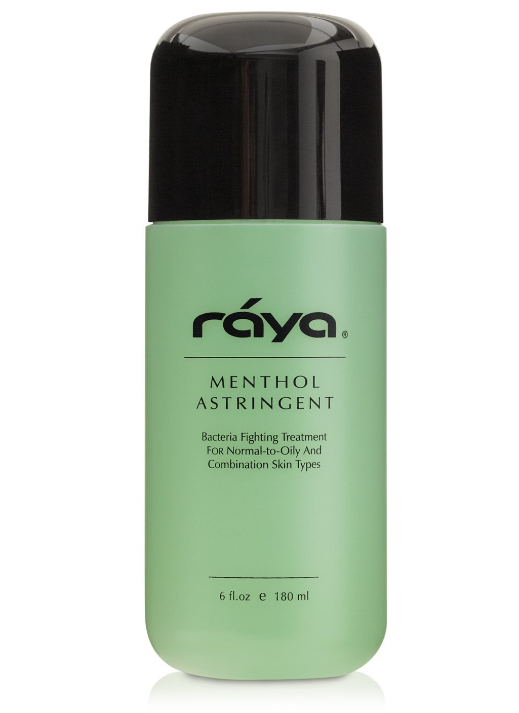 RAYA Menthol Astringent 6 oz (203) | Effective Facial Toner for Combination and Partially Oily Skin Prone to Break-Outs | Helps Refine, Tighten, and Protect pH Balance | Cools, Refreshes and Soothes