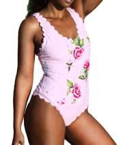 ohyeah Women's One Piece Swimsuit Swimwear Bathing Suit Plus Size Swimwear