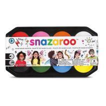 Snazaroo Face Paint Palette, 8 x 18ml