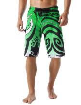 Unitop Men's Swim Trunks Beachwear Quick Dry Hawaiian Printed
