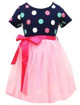 Little Girls Tutu Dresses Toddler Polka Dots Summer Dress Pink Multi Layer Tulle Party Sundresses 2-7 Year