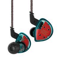 in Ear Monitor Headphones,Yinyoo KZ ES4 in Ear Earphones High Fidelity Noise Cancelling Earbuds Wired Over Ear Stereo Bass Earphones 1DD+1BA Dual Drivers Hybrid HiFi DJ Monitor Headsets(Blue Nomic)