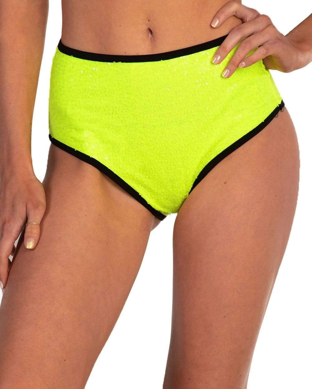iHeartRaves Womens Booty Shorts Low Rise Festival Rave Bottoms