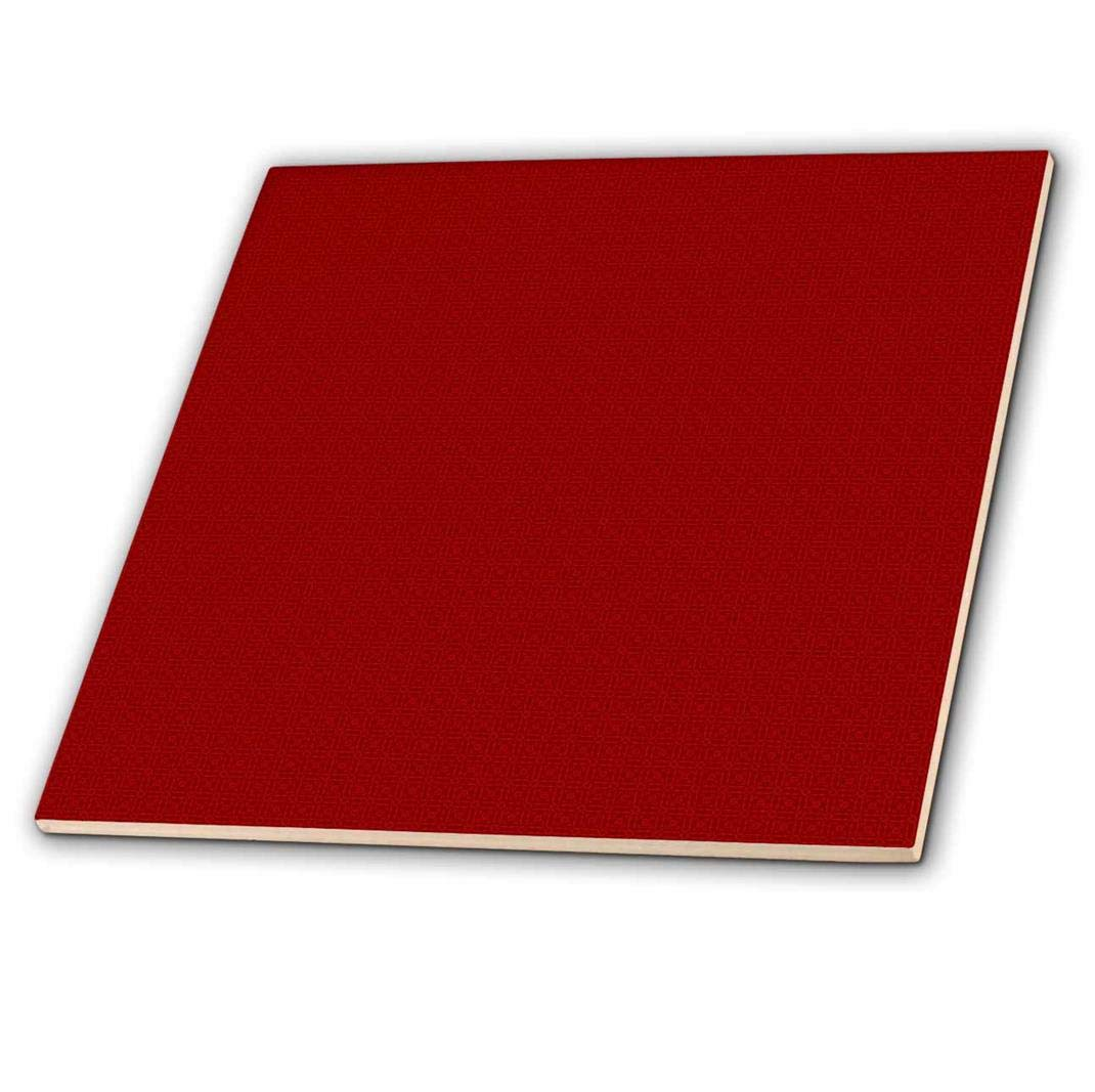 3drose Dark Red And Light Red Square Patterns Ceramic Tile 6 Inch Ct 180515 2