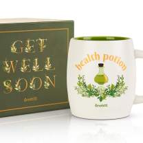 Best Unique Get Well Soon Gifts Idea for Men, Women, Cancer Patients After Surgery, Broken Arms - Ceramic Mug Health Potion - Sympathy Gift, Breast Cancer Gifts, Surgery Recovery Gifts - Onebttl