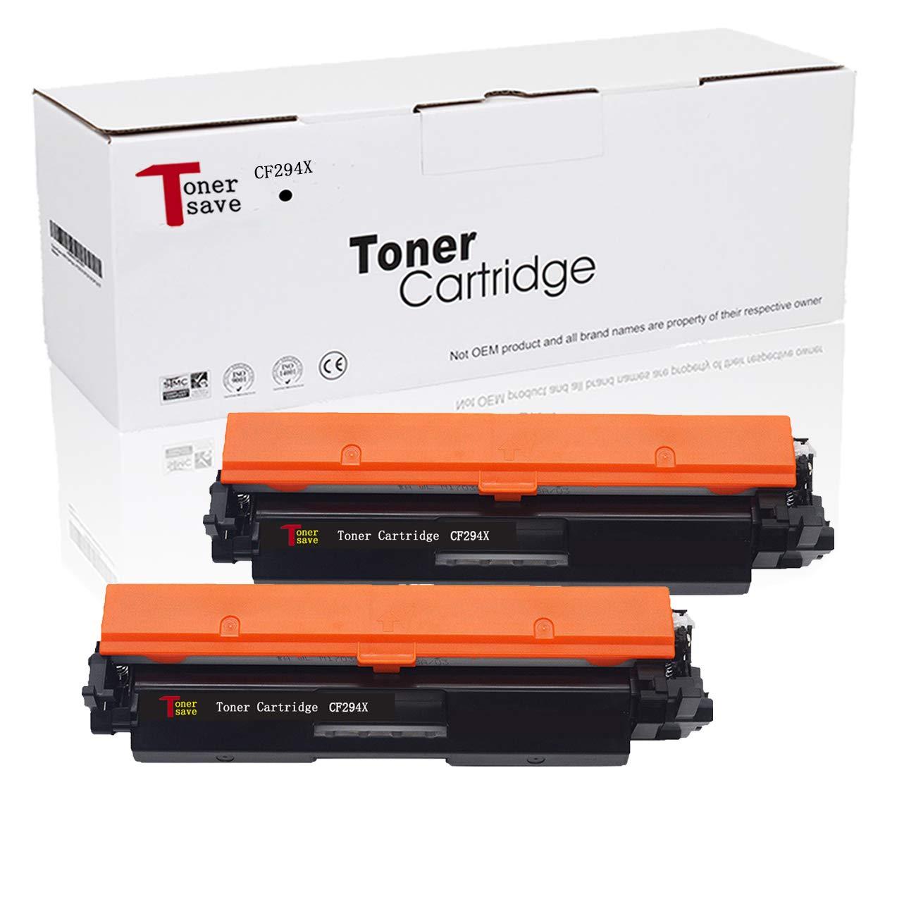Tonersave 2PK CF294X CF294A Toner HP 94X 94A Cartridge for HP Laser Jet Pro M118dw MFP M148fdw MFP M148sw MFP M149fdw Printer