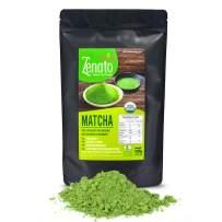 Organic Matcha Green Tea Powder 500g 17.6 oz Sealable Bulk Bag, Culinary Grade for Latte, Bakery, Smoothie, Shake, Ice Cream, Low Caffeine, no Fat or Sugar, Supply of Antioxidants and Energy