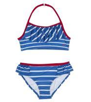 Nautica Girls' Fashion Bikini Swim Suit with UPF 50+ Sun Protection