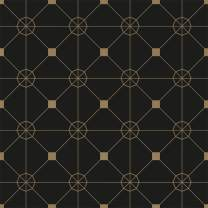 Tempaper ZO10567 Zodiac Removable Peel and Stick Wallpaper, Noir