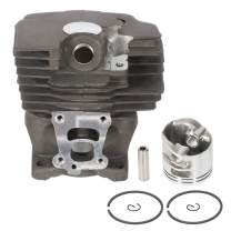 ECCPP 47mm Cylinder Head Piston Kit fit for STIHL MS362 MS362C Chainsaw Replace 1140 020 1200 Piston Pin Rings Circlip Chainsaw Parts New