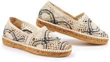 VISCATA Handmade in Spain Garraf Crochet Women's Flats, Authentic & Original