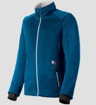 Gerbing Women's Heated Softshell Jacket, Blue - 7V Battery