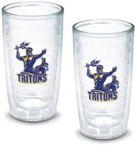 Tervis 1042923 Ca San Diego University Emblem Tumbler, Set of 2, 16 oz, Clear