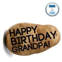 Happy Birthday Card Alternative. Your custom message on a real potato. Surprise Gift Box Included. As seen on Shark Tank!