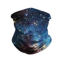 Bandana Face Mask, Multifunctional Dust Mask Cloth Washable Women Men Headband Scarf Headwear for Outdoors, Festivals, Sports (Style20)