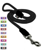 Pawtitas Training Dog Leash 6ft Extremely Durable Rope Leash for Dogs Premium Quality Heavy Duty Rope Lead Strong and Comfortable