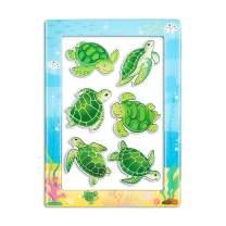 "Sea Hawaii Turtle Magnet for Fridge 1 Magnetic Photo Frame 4""x6"" Ocean Decorative Office Whiteboard Locker Gifts Hawaiian Souvenir"
