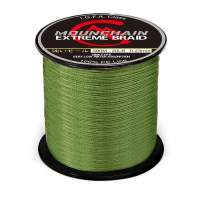 Mounchain 100% PE 4 & 8 Strands Braided Fishing Line, 10 20 30 40 LB Sensitive Braided Lines, Super Performance and Cost-Effective, Abrasion Resistant
