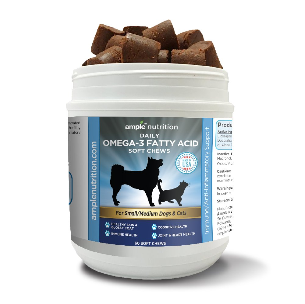 Ample Nutrition Omega-3 Soft Chews
