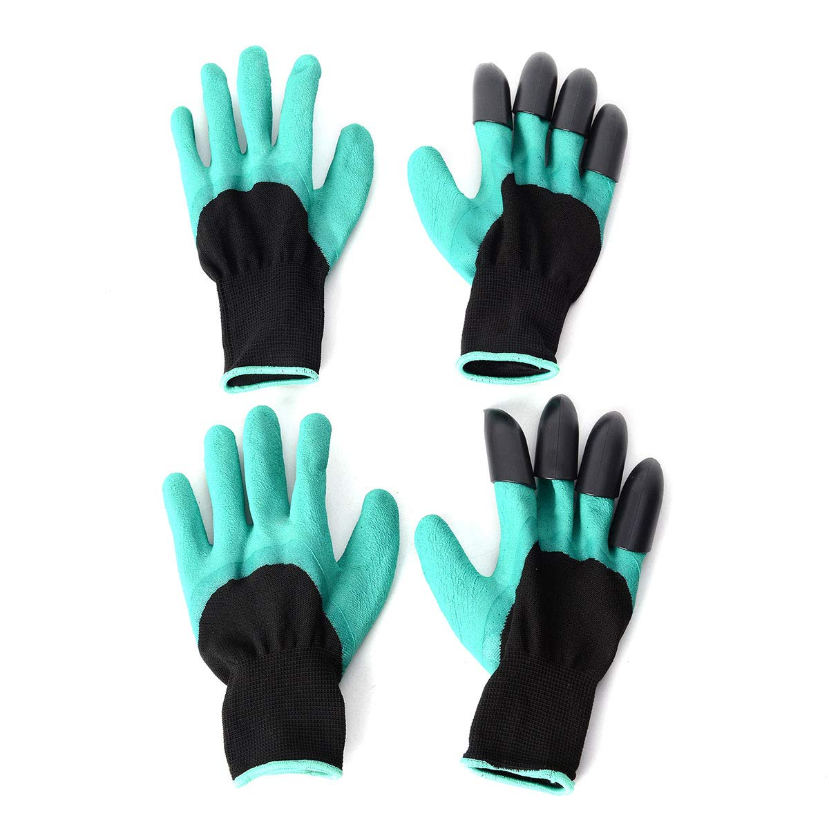 Shop LC Delivering Joy Home Gardening Nursery Digging Planting Garden Work Gloves with Claws Puncture Resistant Breathable Waterproof Set of 2