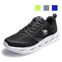 CAMEL CROWN Men's Trail Running Shoes Lightweight Walking Shoes Workout Gym Men Sneakers Casual Tennis Athletic Shoes